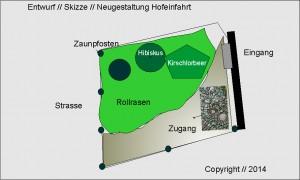 """Planung einer Hofeinfahrt als """"Feierabend-Oase"""" in der Nähe von Frankfurt"""