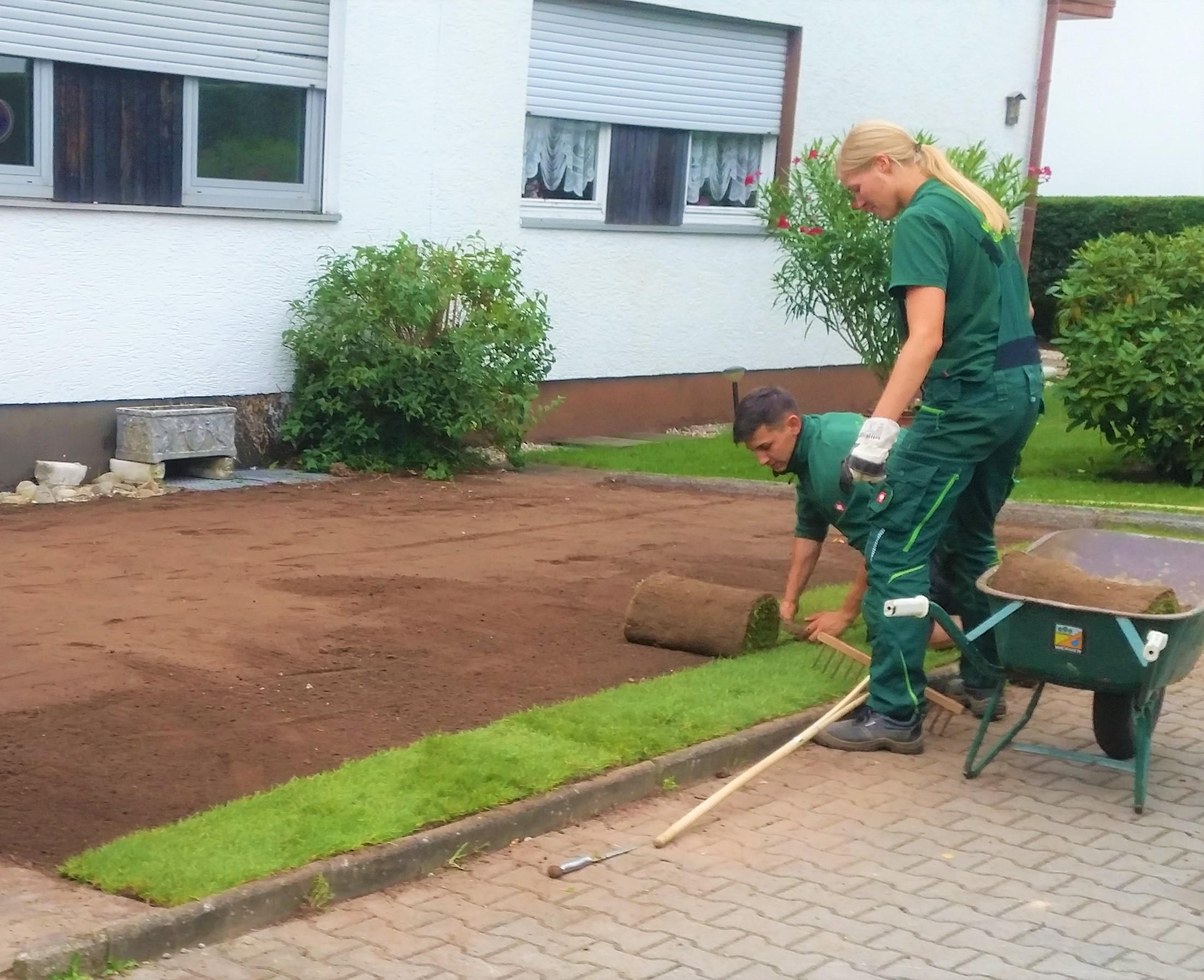 Landschaftsbau Frankfurt rasenbau werner garten und landschaftsbau gmbh frankfurt