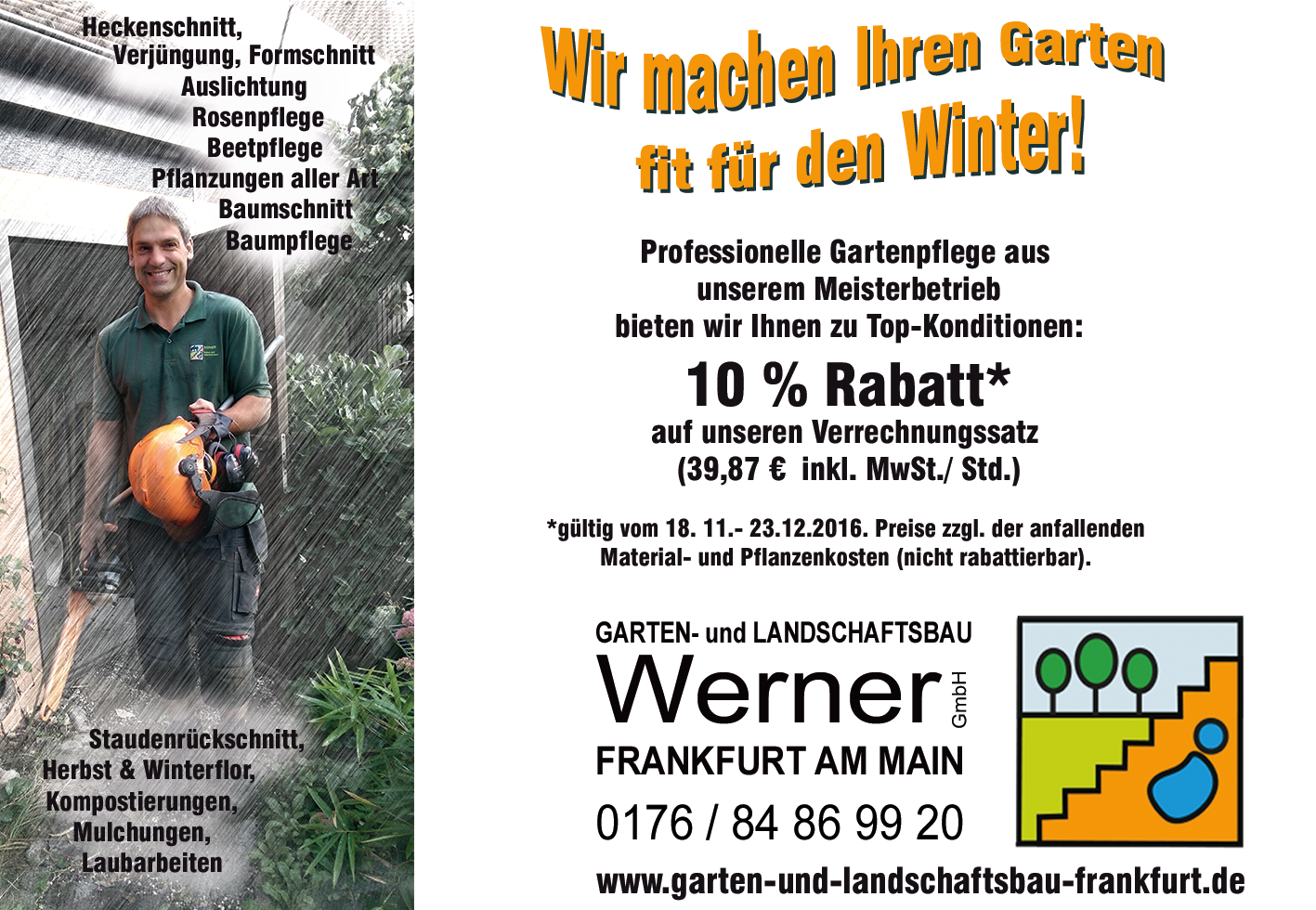 Gartenbau Meisterbetrieb Garten & Landschaftsbau Werner Frankfurt ...